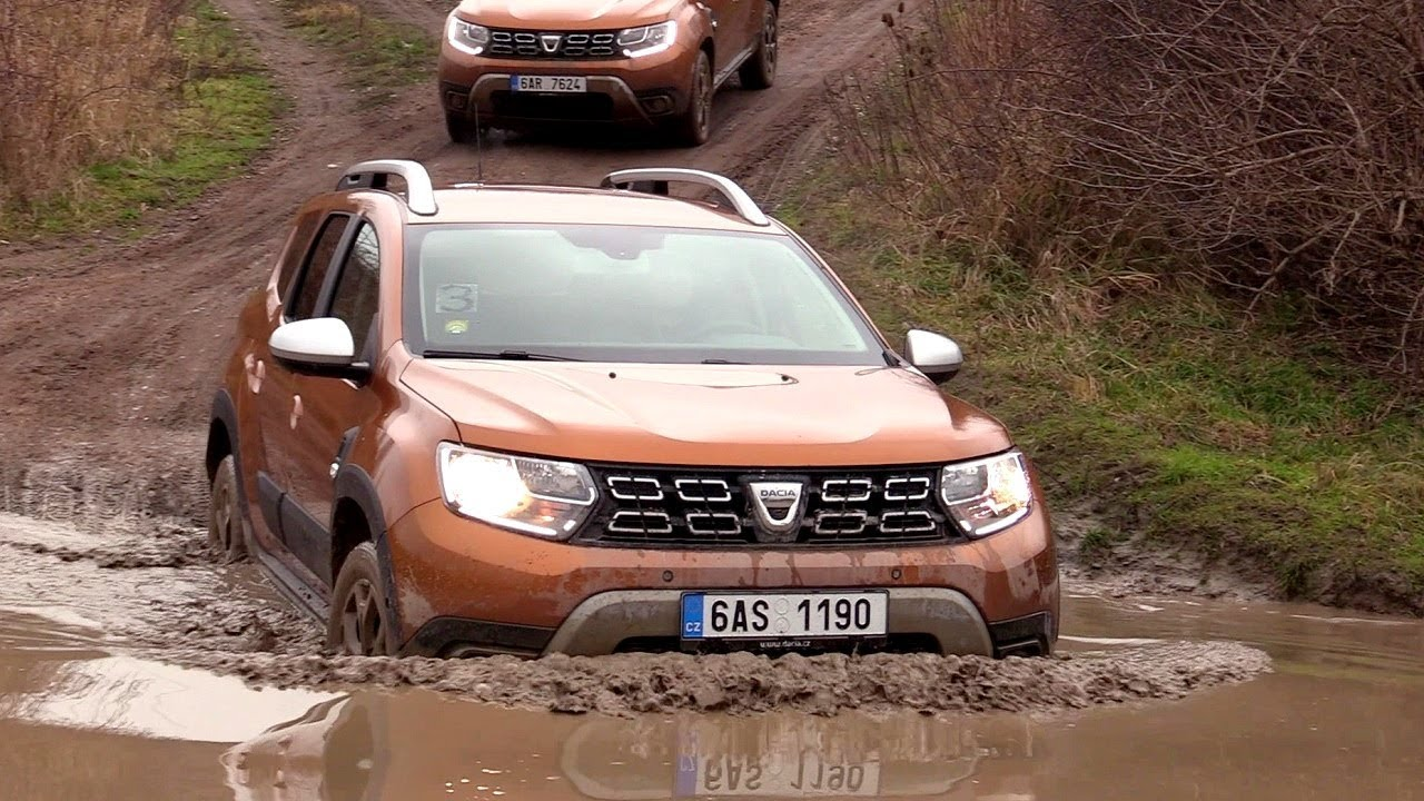 new 2018 dacia duster 4x4 hard off road 4wd youtube. Black Bedroom Furniture Sets. Home Design Ideas