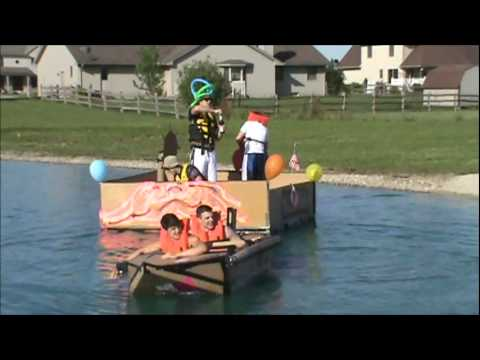 Mrs.Richards Cardboard Boat Regatta Part 1