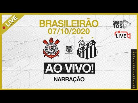 🔴 AO VIVO: CORINTHIANS 1 x 1 SANTOS | BRASILEIRÃO (07/10/20)