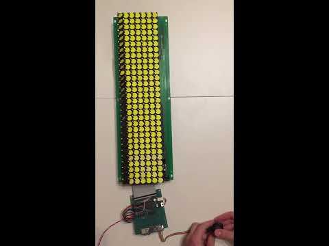 Tetris Played on an Mechanical Display: FlipTris