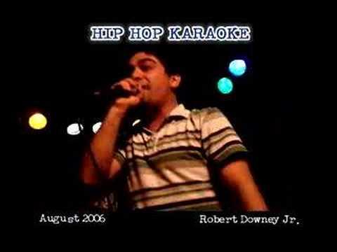 "Hip Hop Karaoke NYC - Daniel - ""Triumph"""