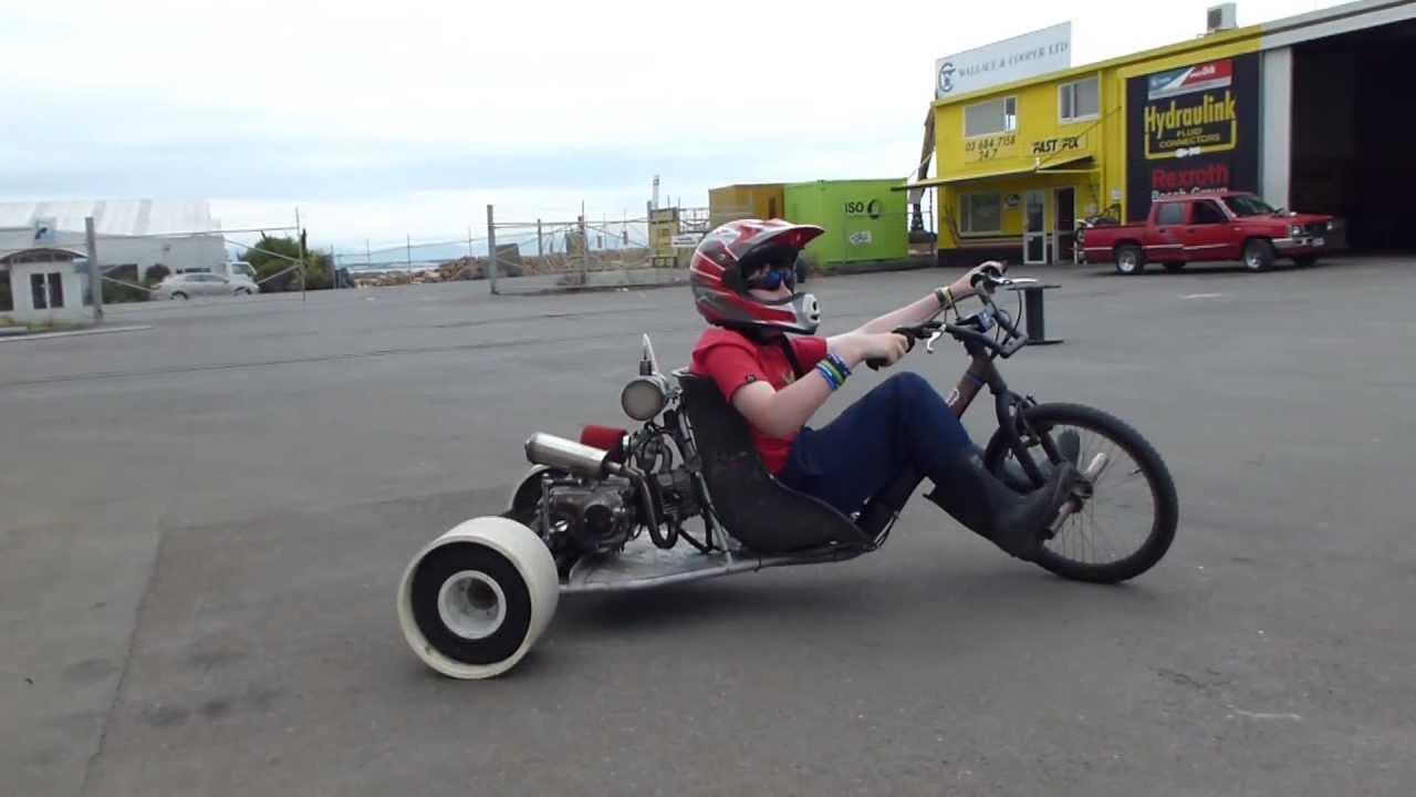 Motorized Drift Trike Timaru Youtube