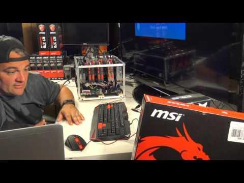 Live Episode 4 - BBT R7 370 Rig Builds For Ethereum 5.7.16