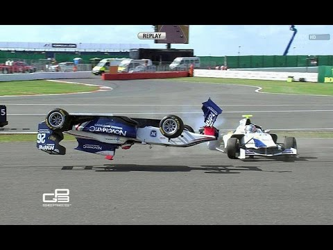 Top 10 GP3 Crashes
