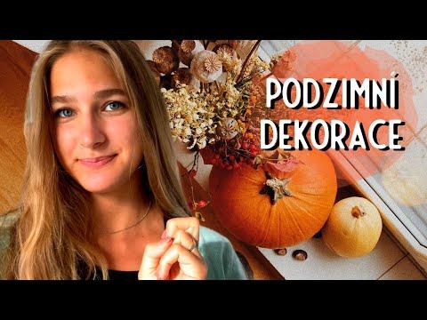 Podzimní dekorace | sběr přírodnin | DIY