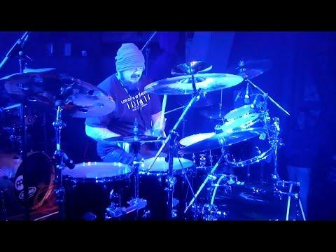 "James Chapman at the 2015 Bag Show Paris Drum Festival - Performing ""13"""