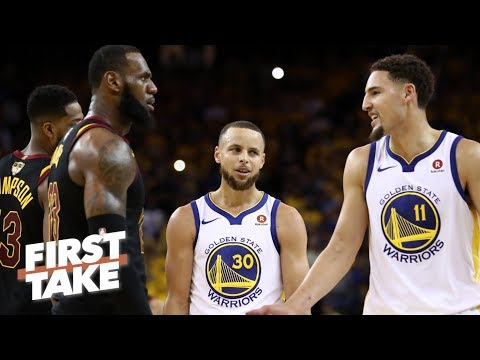 Stephen A. on Klay Thompson's free agency: I wouldn't trade him for LeBron James | First Take | ESPN