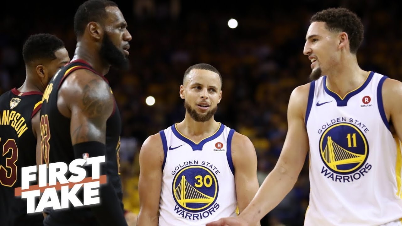 730c4b68d35 Stephen A. on Klay Thompson s free agency  I wouldn t trade him for LeBron  James