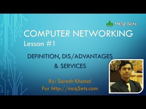 Computer Networking Lesson #1 - Definition, Advantages/Disadvantages, Network Services