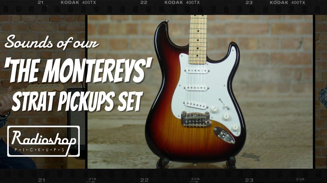 Stratocaster Pickups - Custom Handwound Stratocaster Guitar