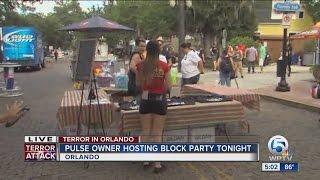 owner of pulse nightclub hosting block party in orlando