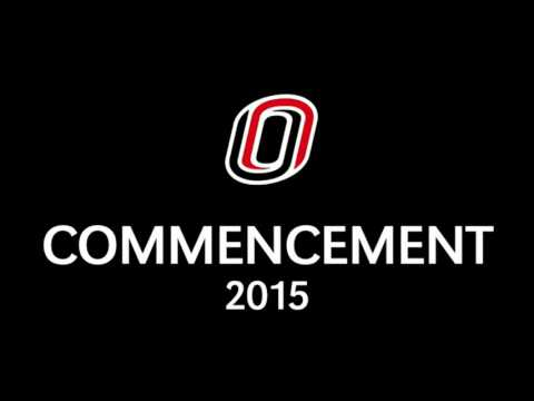 UNO - Fall 2015 Commencement 1 of 2