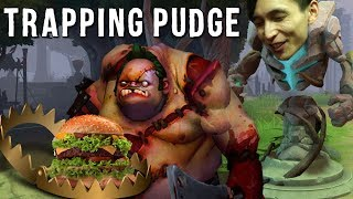TRAPPING PUDGE IS SIMPLE (SingSing Dota 2 Highlights #1433)