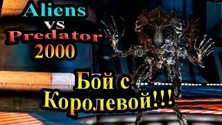 Чужой против Хищника 2000 (Aliens vs predator Classic) - часть 7 - Бой с Королевой!!!