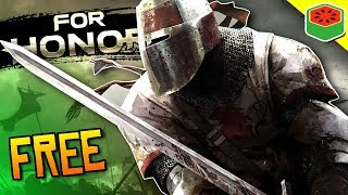 Get The Game FOR FREE! [Black Prior Main BTW]   For Honor