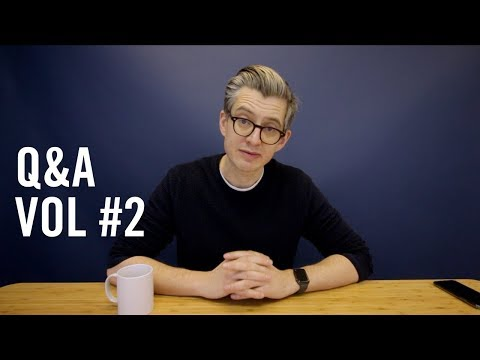 Q&A Volume #2 - Creating a successful cafe, sales tactics and more