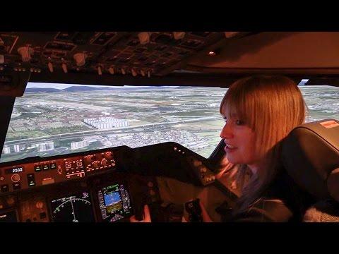 Taking 'flight' at CAE - YouTube