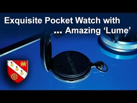 Exquisite Mystery Pocket Watch - 'The Lume Shot' - Pocket Watch Restoration
