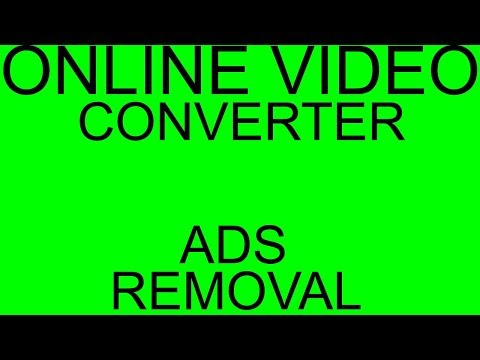 Online video converter ads removal from Chrome. How to get rid of pop-up ads.