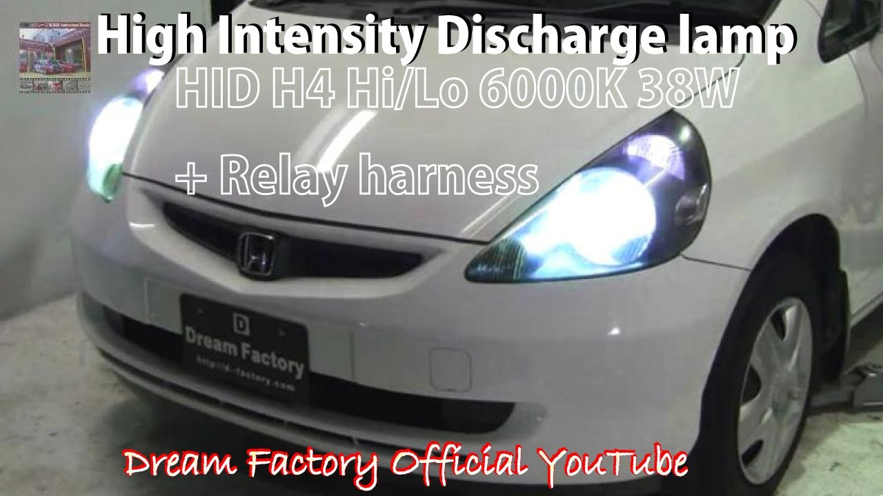 medium resolution of hid led installation honda fit jazz dream factory official youtube youtube