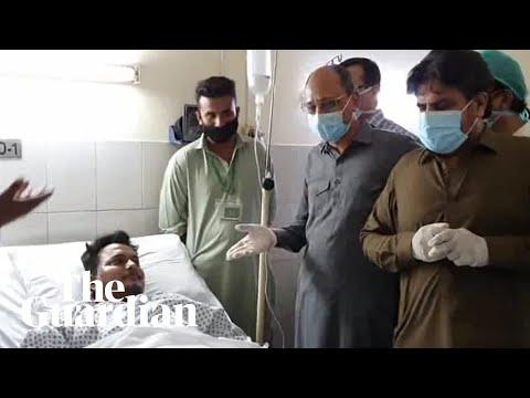 Karachi plane crash survivor describes his escape
