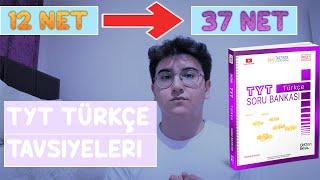 TYT Türkçe Nasıl Çalışılır ?  3 Ayda 12den 37 NETE Çıktım  Türkçede Hızlanma Taktikleri YKS2021