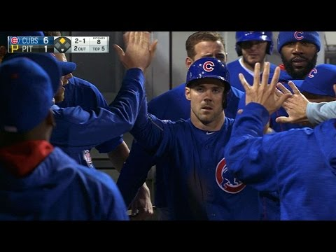 5/2/16: Cubs use four-run 5th to defeat Bucs, 7-2