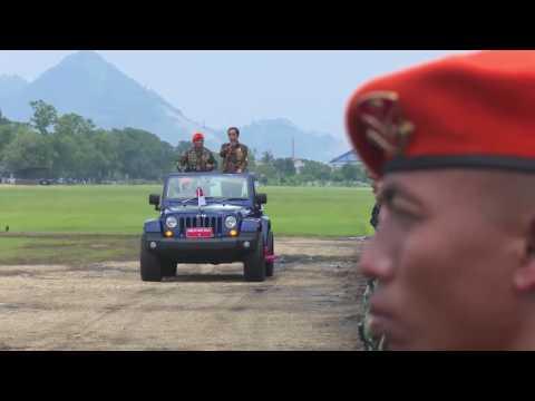 Pengarahan Presiden Joko Widodo Kepada Korps Pasukan Khas