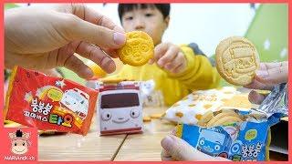 꼬마버스 타요 뽀로로 과자 어린이 먹방 놀이! 구슬 아이스크림 맛있어요 ♡ The little Bus Tayo Cookies Mukbang | 말이야와 아이들 MariAndKids