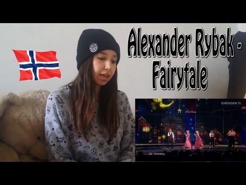 Alexander Rybak - Fairytale (Norway) 2009 - Eurovision _ REACTION