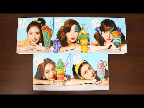 |Unboxing| Red Velvet 레드벨벳 - Summer Magic (All 5 Limited Version Covers)