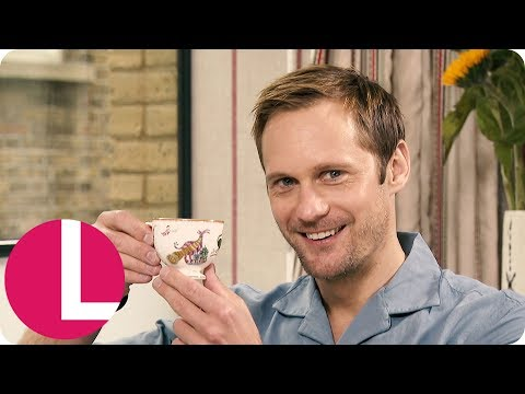 Alexander Skarsgård Teases Whether He'll Star Alongside Meryl Streep in Big Little Lies  Lorraine