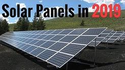 Solar Panels In 2019