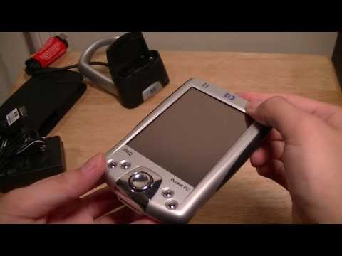 HP IPAQ H2200 PDA Unboxing: Throwback (Pocket PC)