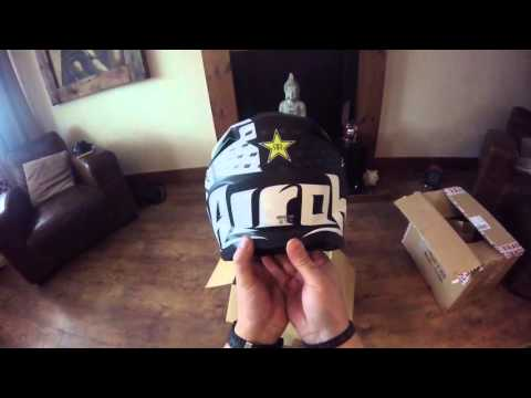 2016 airoh twist Matt helmet