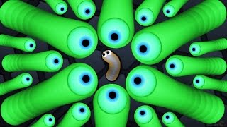 Slither.io Monster Kill On Biggest Snake In The Server! ( Slither.io Live Stream )