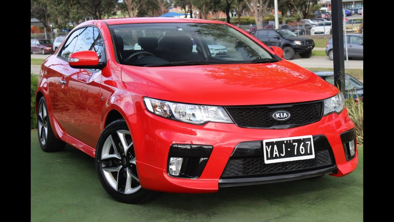 B5354 2010 Kia Cerato Koup Auto My10 Review