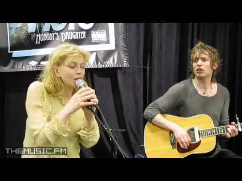 """Hole """"For Once In Your Life"""" Live/Acoustic at Nobody's Daughter Album Release In-Store 4/26 #5"""