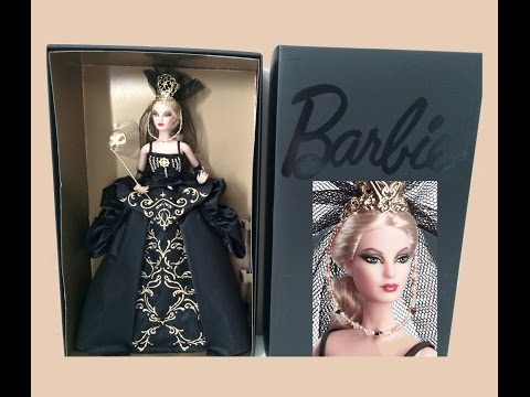 Collector Barbie doll review: VENETIAN MUSE - Gold Label Limited Edition doll