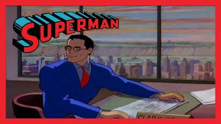 The Origianl First Superman Cartoon | The Mad Scientist