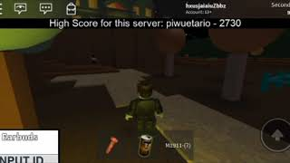 Playing Roblox Jeff the killer Mansion