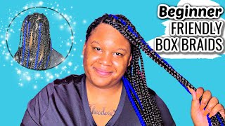 The Style That Will Grow Your Hair FAST!!! | Box Braids Tutorial