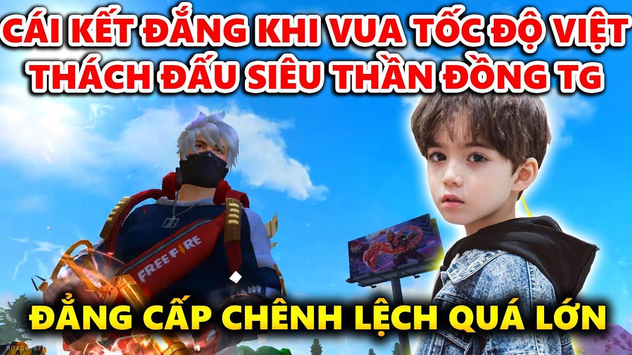 Cái Kết Quá Đắng Khi Vua Tốc Độ Việt Nam Thách Đấu Siêu Thần Đồng Thế Giới !