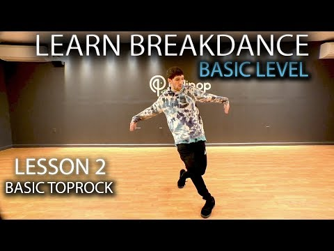 Learn how to Breakdance in 3 minutes! Lesson 2 - Basic Top Rock