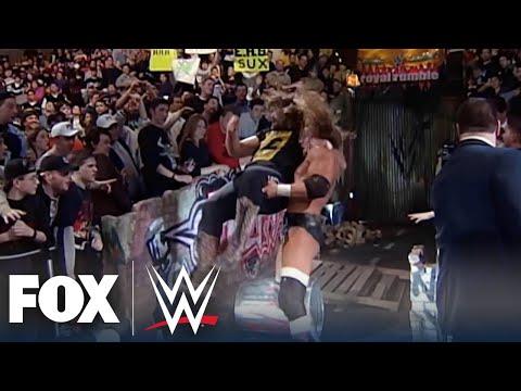 Triple H & Mick Foley reminisce on legendary Royal Rumble street fight | WWE BACKSTAGE | WWE ON FOX