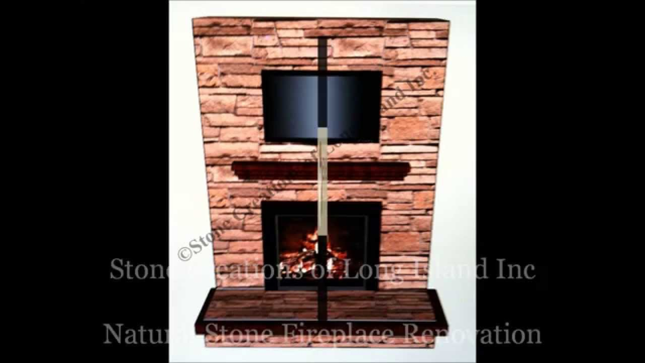 natural stone fireplace 3d designed u0026 installed stone