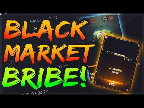 BRIBE THE BLACK MARKET! MX GRAND CASE OPENING! Bribe The Black Market Guy (Black Ops 3 Black Market)