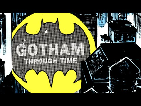 The Evolution of Batman's Gotham City