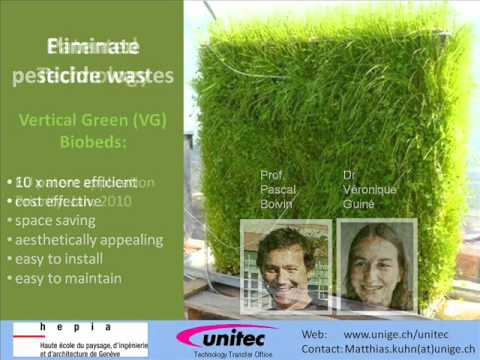 Vertical Green Biobed Technology Opportunity