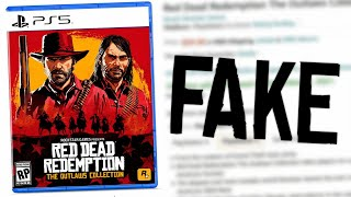 """Red Dead Redemption: """"The Outlaws Collection"""" is NOT Real (A Good Fake is Still a Fake)"""